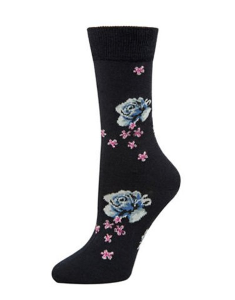 McGregor Socks Women's Wool Floral Navy FA17