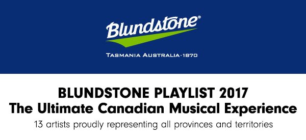 Blundstone 2017 Playlist