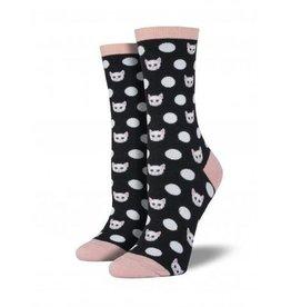 Socksmith Women's Meow-Ka Dot - SP18
