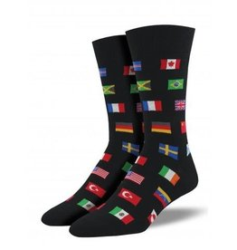Socksmith Men's Flags of The World - SP18
