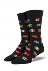 Socksmith Men's Flags of The World - SP18