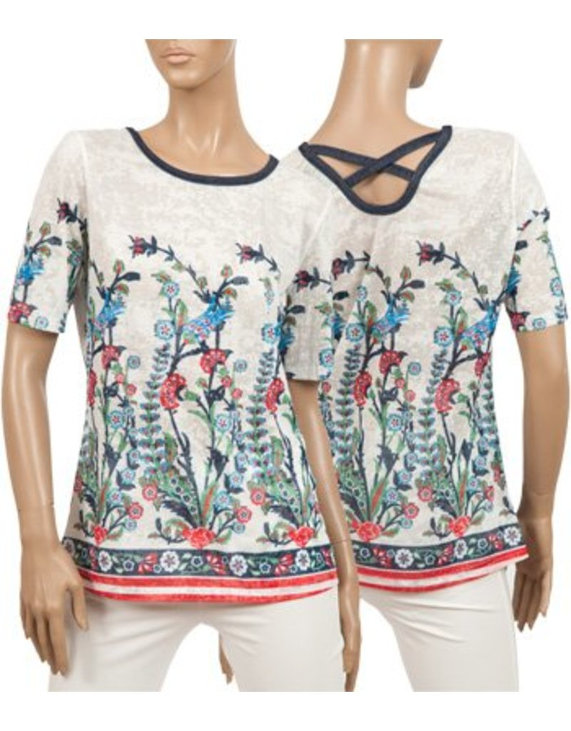 CYC Women's Round Neck T Floral Print - SP18