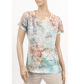 CYC Women's Round Neck T With Beading - SP18