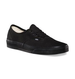 Vans Men's Authentic  Black On Black - FA18