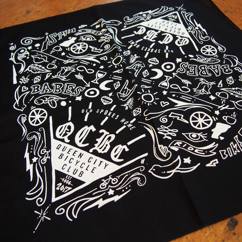 Old Spokes Home Queen City Bicycle Club Bandana