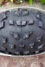 "45NRTH 45NRTH Wrathchild 26 x 4.6"" Studded Fatbike Tire: 120tpi Folding"