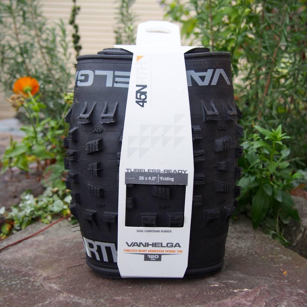 "45NRTH 45NRTH Vanhelga 26 x 4.0"" Fatbike Tire 120tpi Tubeless Folding"