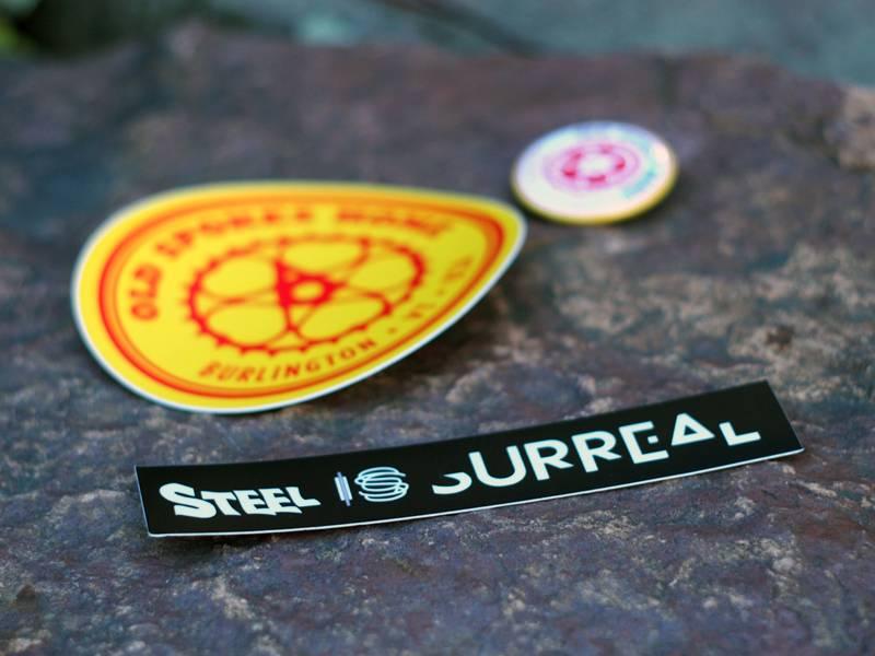 Steel is Surreal Steel is Surreal Sticker