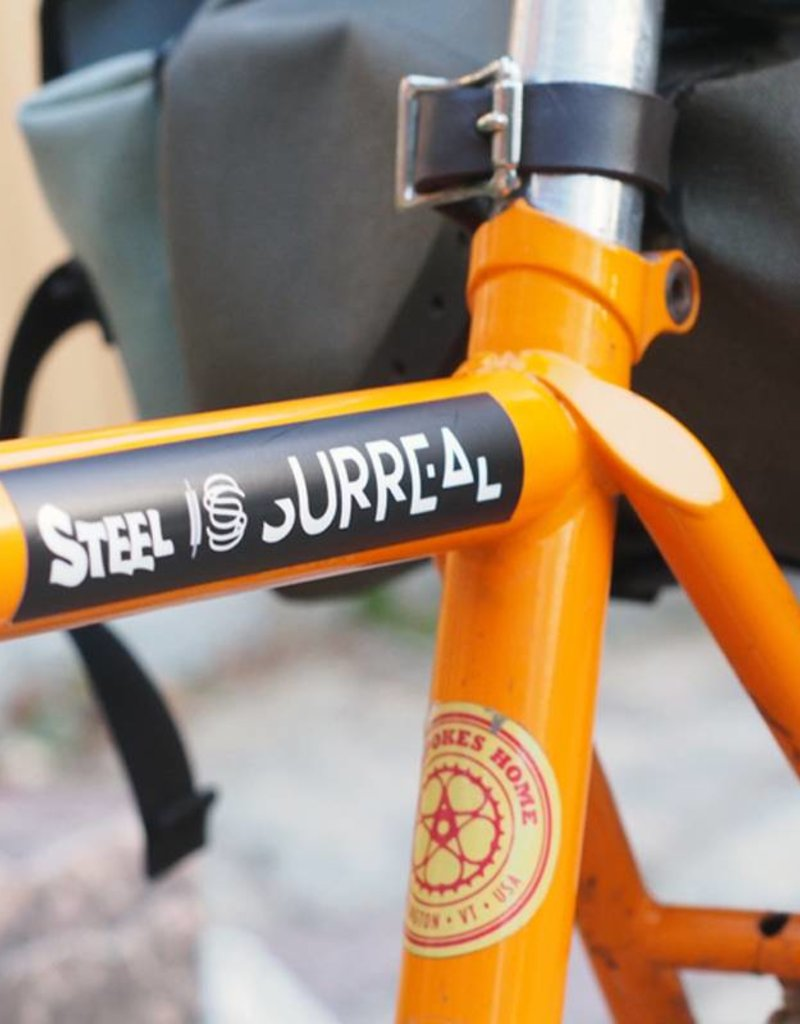 Steel is Surreal Steel is Surreal Sticker