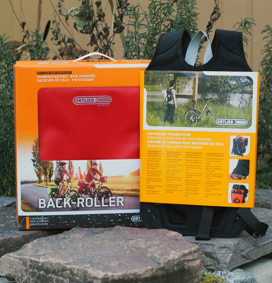 Ortlieb Ortlieb Carrying System for Panniers F34 Backpack Attachment