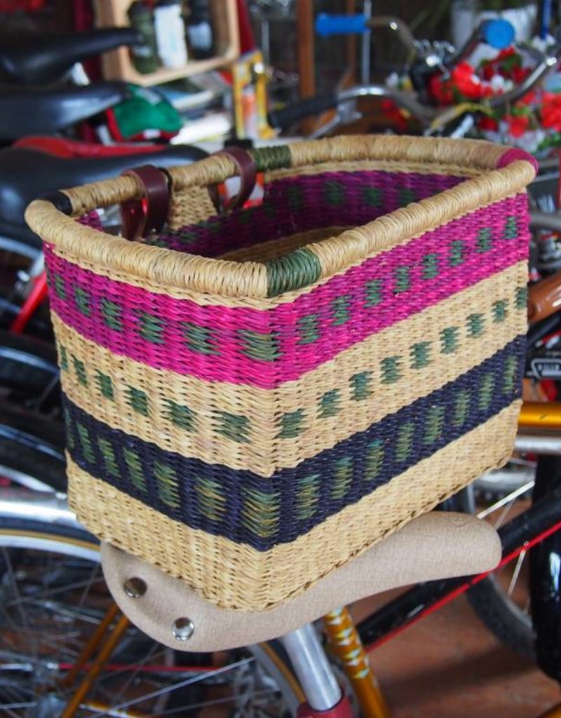 House of Talents House of Talents Square Handmade Front Basket