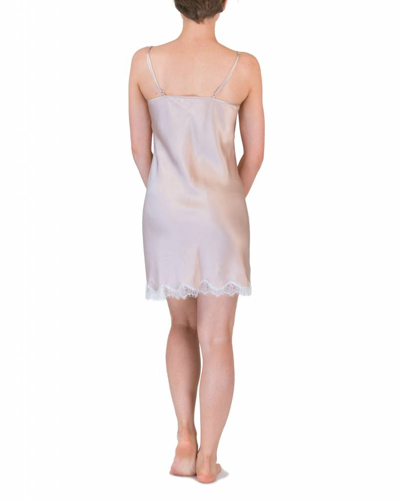 Love and Lustre Love and Lustre Silk Lace Chemise