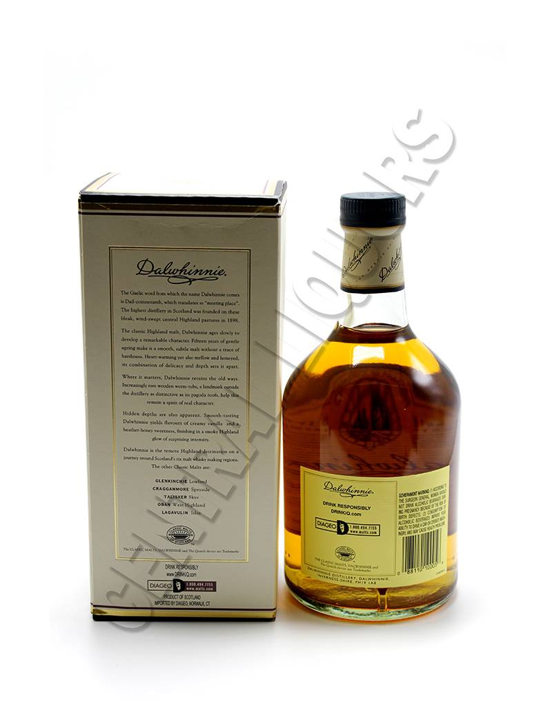 Dalwhinnie Whiskey
