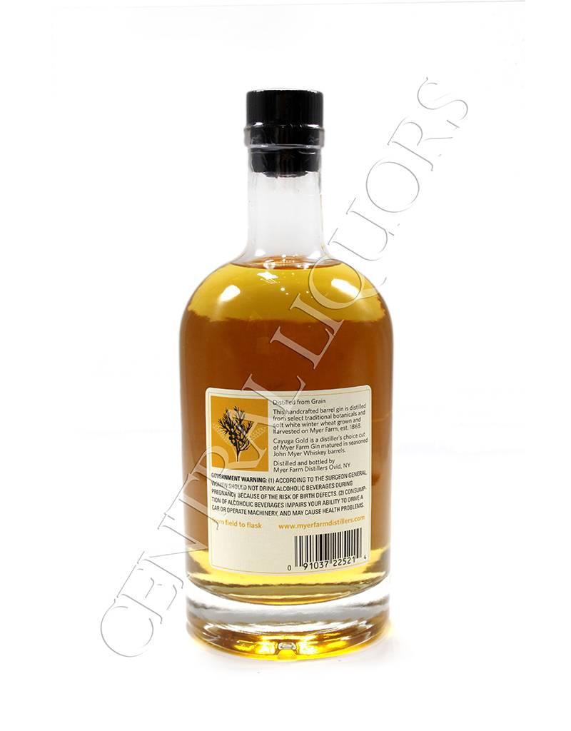 Cayuga gold gin
