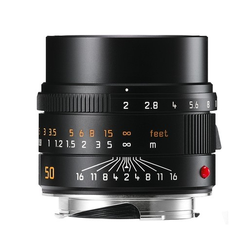 50mm / f2.0 APO ASPH Summicron Black Anodized (E39) (M)