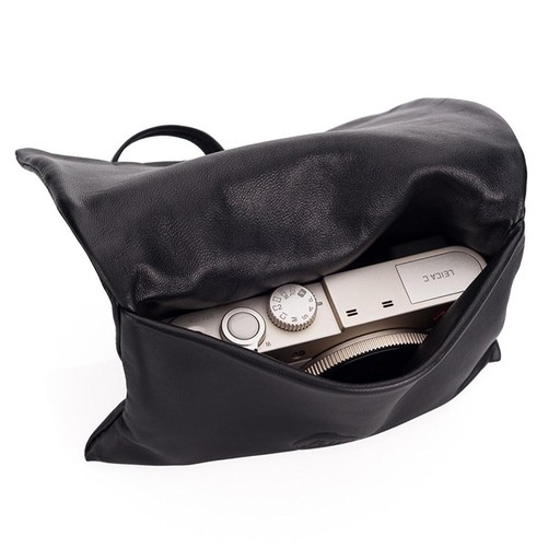Camera Pouch - Leather Black C