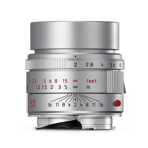 50mm / f2.0 APO ASPH Summicron Silver Anodized (E39) (M)
