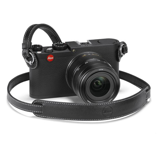 Camera Strap - Black Leather M & X