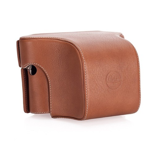 Case: Ever Ready w/Small Front Cognac for M (Typ 240)