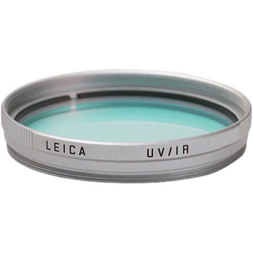 Filter - E55 UVa/IR Filter Silver