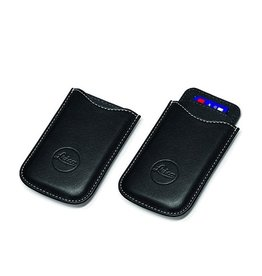 SD & Credit Card Holder Leather Black