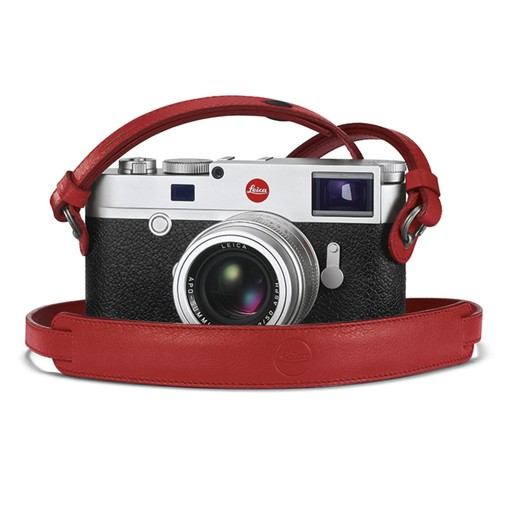 Camera Strap - Red M