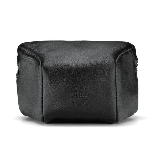 Leather Pouch Black Long M10