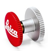 Soft Release Button: 'Leica' 12mm Red