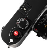 Soft Release Button 'Leica' 8mm Red