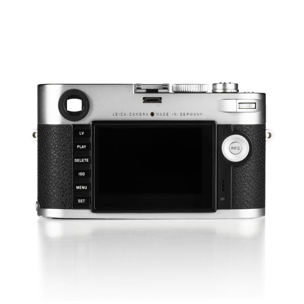 P80-38 Used Leica M (Typ 240) Silver Chrome w/ Original Box & Accessories