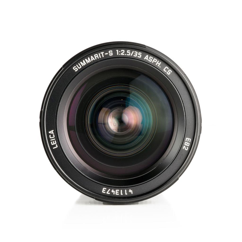 P80-39 Used Leica Summarit-S 1:2.5 / 35mm ASPH CS