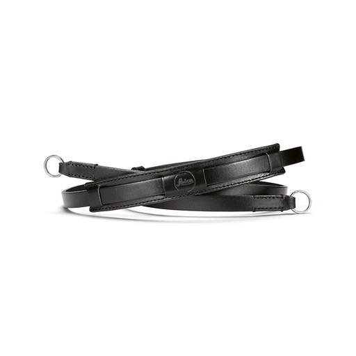 Neck Strap - Vintage  Black Leather CL
