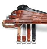 Neck Strap - Vintage  Black Leather CL