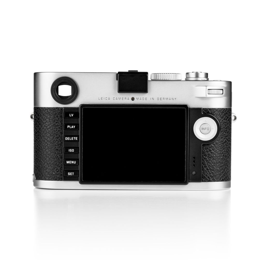 Used Leica M (Typ 240) Silver Chrome '100-Year' Edition w/ Original Box, Accessories, Extra Battery