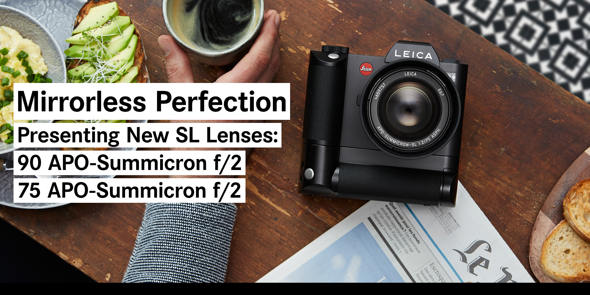 The Leica SL System