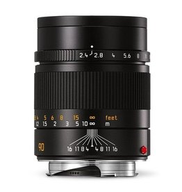 CPO: 90mm / f2.4 Summarit Black (E46) (M) 1 Year Warranty