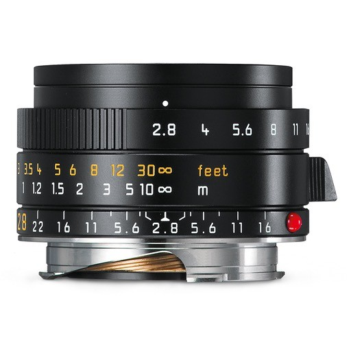 CPO: 28mm / f2.8 ASPH Elmarit Black (E39) (M) 1 Year Warranty