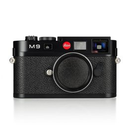 Used Leica M9 Black Chrome w/ 2 Extra Batteries, Thumbs Up, Hand Grip, No Box