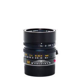 50mm Summilux ASPH f/1.4 Black (S/N 4250460)