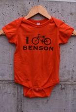 I Bike Benson Kids' Tee