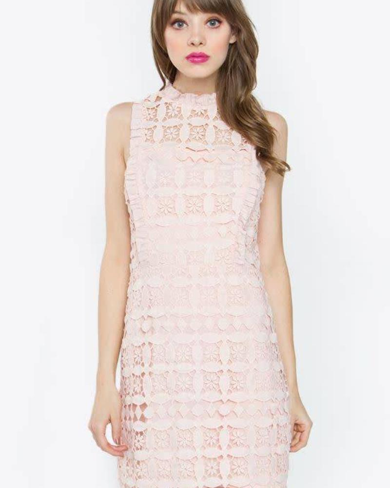 SUGAR + L!PS Margo Crochet Dress