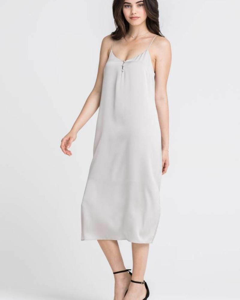 LUSH Taupe Mid Dress