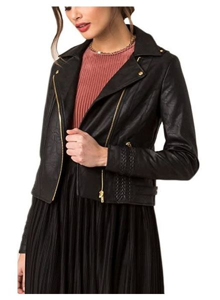 BLACK SWAN Andie Jacket w/ Braid Detail