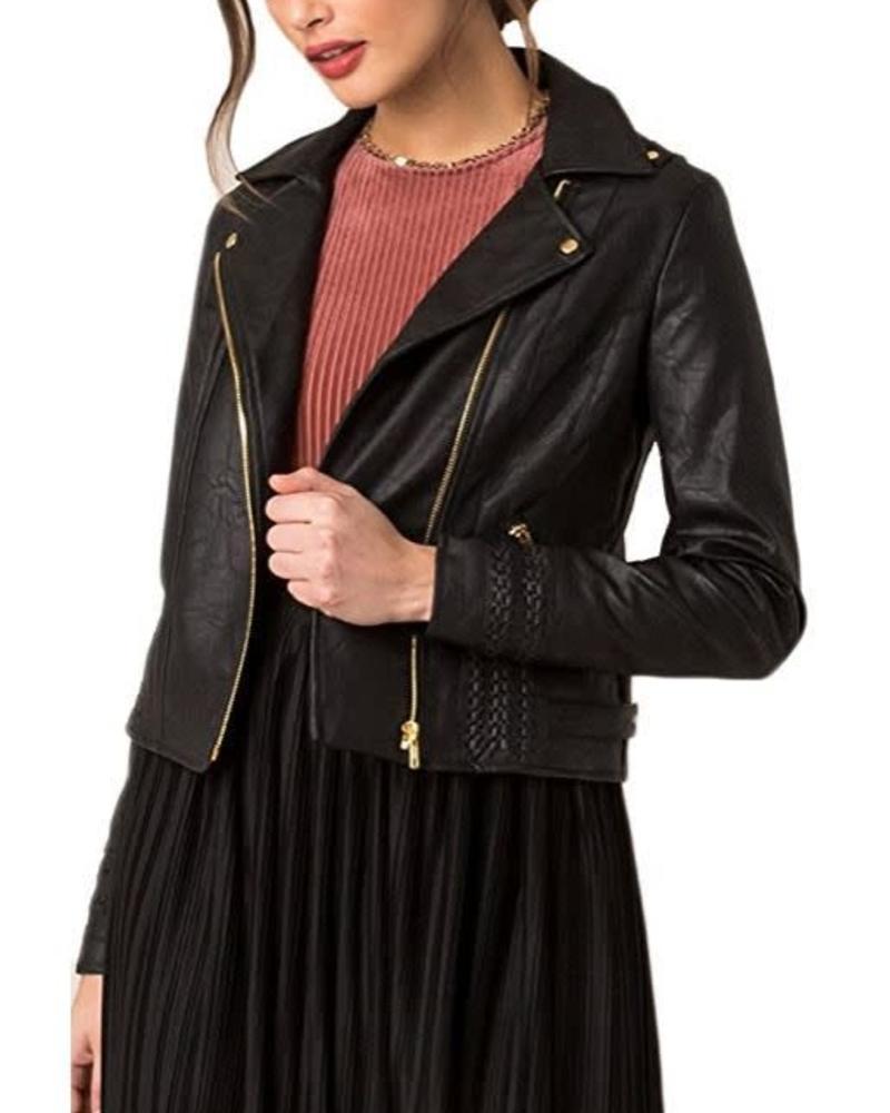 BLACK SWAN Andie Jacket w/ Braid Detail