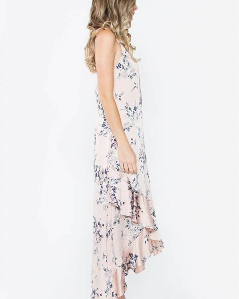 SUGAR + L!PS Dreamy Blush Floral Maxi