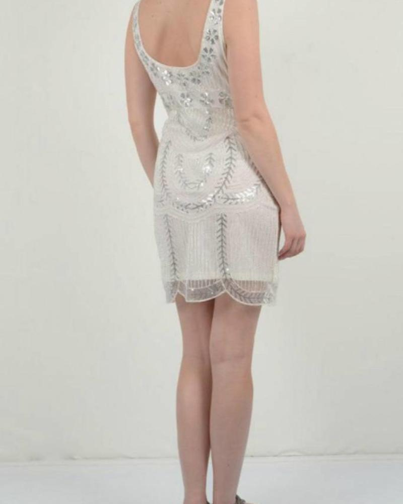MOLLY BRACKEN Shimmer Dress