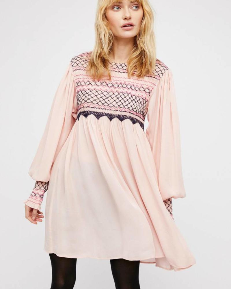 Free People Late Night Mini Dress