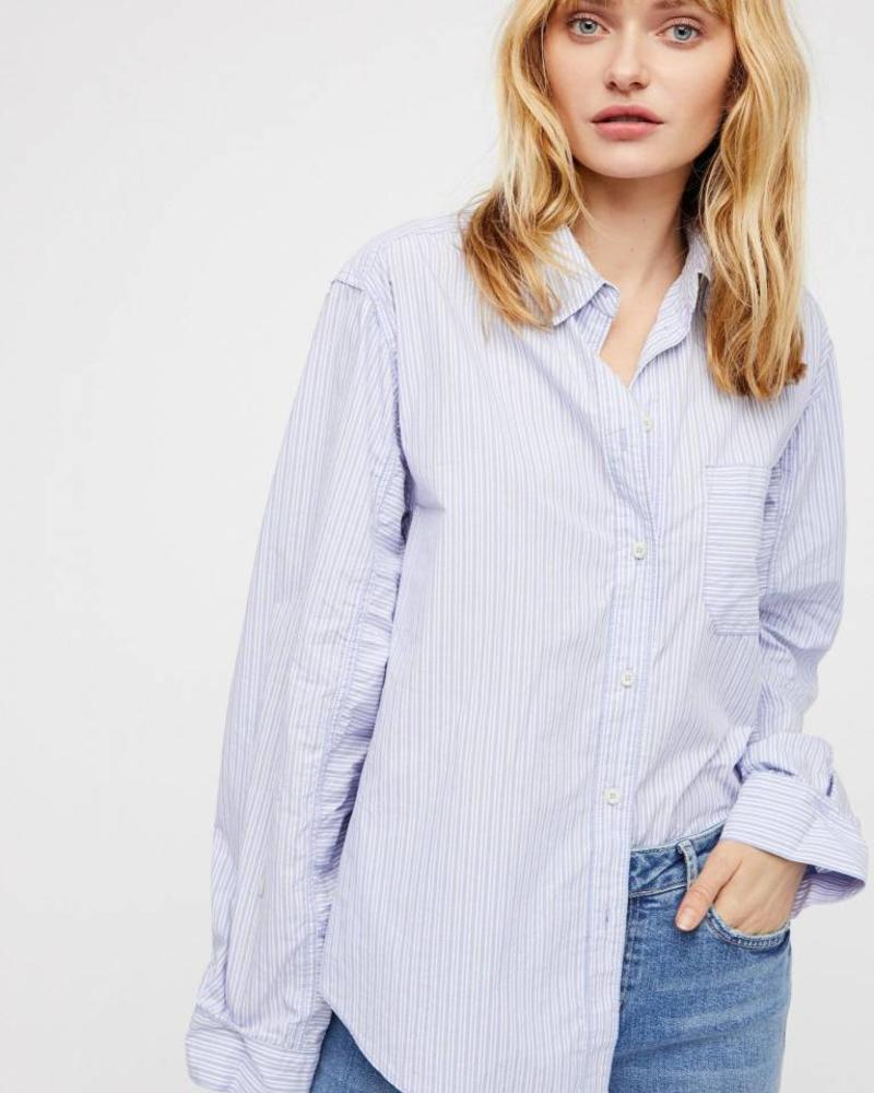 Free People Tie It Bow Blouse