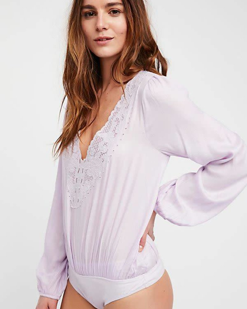 Free People Jezebel Bodysuit | Lilac