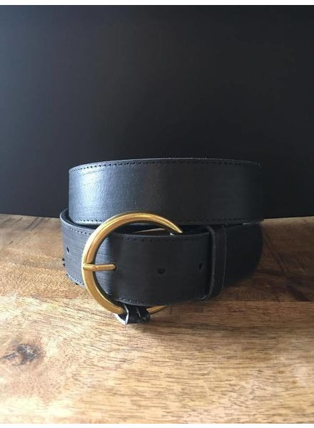 America Basic Leather Belt | Two Colors